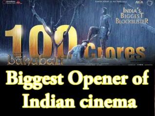 #JustIn: 100 करोड़ की सुनामी बनी बाहुबली 2, ओपनिंग के साथ 100 करोड़ क्लब