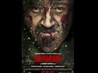 First Poster - संजय दत्त का दिखा खूनी अंदाज..धमाकेदार होगी कमबैक फिल्म भूमि