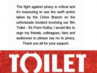 #JustIn: फिल्म लीक होने के बाद अक्षय कुमार ने की है गुज़ारिश...ध्यान से सुनिए