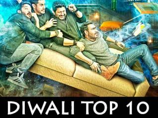 दीवाली टॉप 10 में गोलमाल अगेन की ENTRY...सलमान - शाहरूख पर अजय का ATTACK