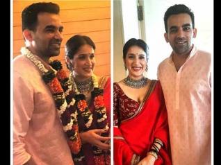 First PIC.. शादी के बंधन में बंधे जहीर खान और सागरिका घटगे.. खूबसूरत