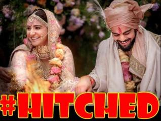 #Breaking: मिसेज़ विराट कोहली बनीं अनुष्का शर्मा....शादी की पहली तस्वीर