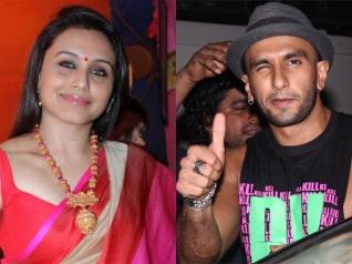 हिचकी गर्ल रानी मुखर्जी अब रणवीर सिंह के साथ काम करना चाहती है, खोला राज