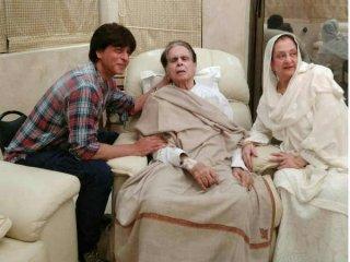 """""""2-3 सालों से शाहरुख सबसे कम दिलीप साहब से मिलने आए..सलमान-आमिर मिलते रहते हैं"""""""