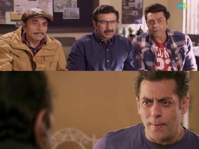 TEASER: सनी देओल की 'यमला पगला दीवाना फिर से'- साथ में सलमान खान का कॉमेडी तड़का