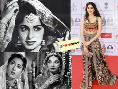 जाह्नवी कपूर बोली, मधुबाला, वहीदा रहमान और मीना कुमारी की तरह रोल करना चाहती हूं