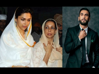 जल्दी होगी शादी, मिल गया सुबूत, दीपिका की मां ने रणवीर सिंह के परिवार के लिए की पूजा
