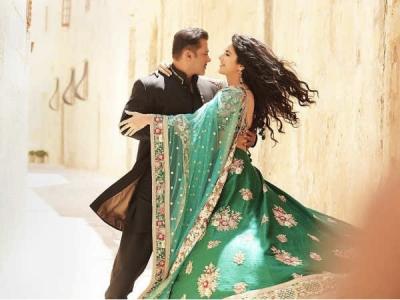 FIRST LOOK: भारत में सलमान खान और कैटरीना की ये पहली तस्वीर आपके होश उड़ा देगी