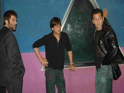 BIGG BOSS 12 सलमान के साथ अनिल कपूर और शाहरूख खान,तस्वीरें  Leak,