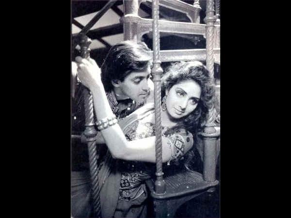 सलमान खान और श्रीदेवी