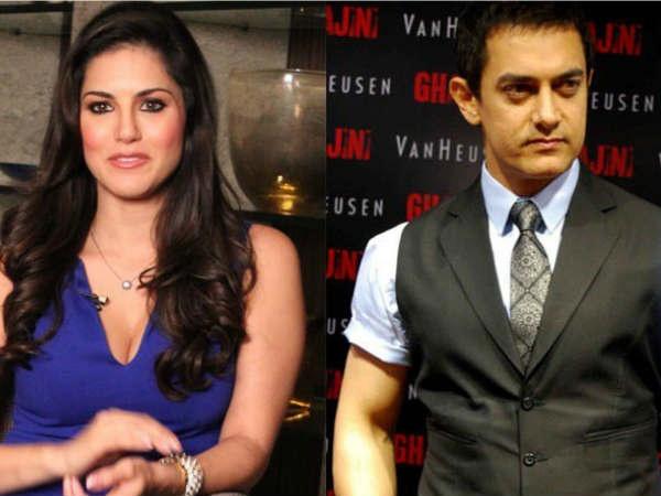 WOW: एक साथ दंगल के सेट पर सनी लियोन और आमिर खान