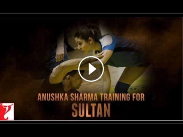 VIDEO: 'सुल्तान' के लिए ट्रेनिंग करतीं अनुष्का शर्मा.. दमदार!
