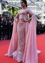 Sonam Kapoor Looks Beautiful On Cannes 2017 Red Carpet